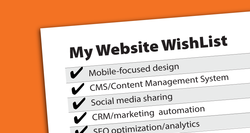 my website wishlist